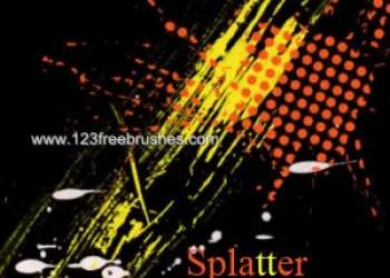 Ink Splatter Paint 104