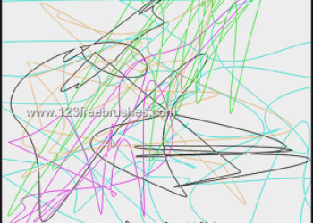 Scribble Lines 4