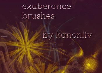Abstract Adobe Brushes