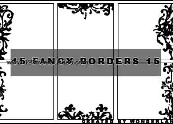 Fancy Icon Borders 3