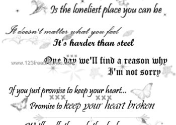 The Rasmus Lyrics