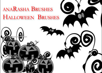 Halloween Photoshop Brushes Pack Photoshop