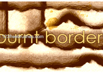 Burnt Borders Brushes