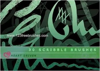 Ink Scribbles 14