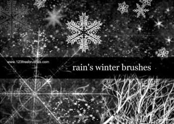 Free Tree Brush Photoshop – Winter Brushes