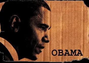 Obama Halftone