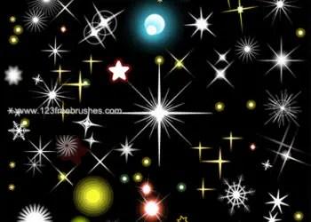 Star Lights Vector