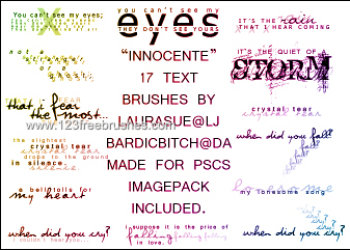 Lyrical – Innocente
