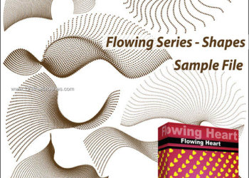 Photoshop Flowing Line Shapes Free Brushes