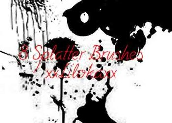 Ink Splatter Paint 61