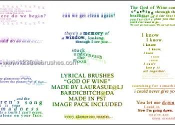Lyrical – God of Wine