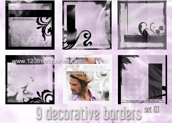 Decorative Borders Pack