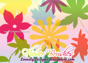 Flower Brushes Photoshop Free Download