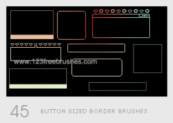 Button Sized Border