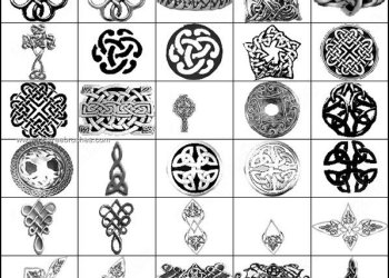 Celtic Knot Photoshop Brushes Free