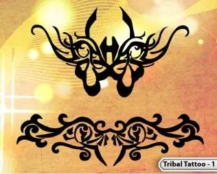 Vol.1 : Tattoo Tribal Designs