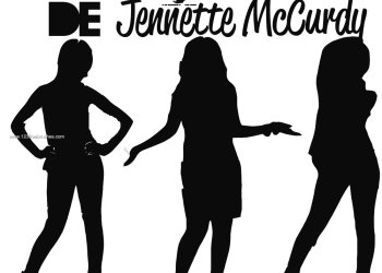 Jennette Mccurdy Silhouettes