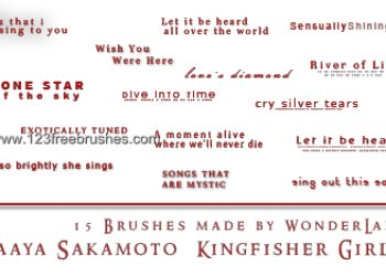 Maaya Sakamoto Kingfisher Girl Lyrics