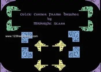 Celtic Corner Frame