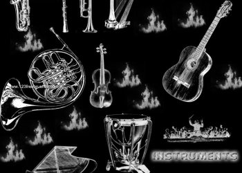 Musical Instruments Guitars – Drums – Saxophone – Piano – Harp