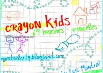 Crayon Kids Drawing
