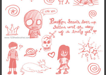 Scribbles and Doodles 15