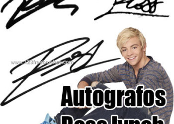 Ross Lynch Autographs