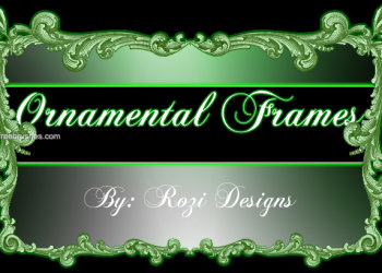 Ornamental Frames Set