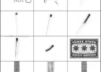 Safety Matches Brush