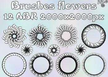Flower Brushes Free