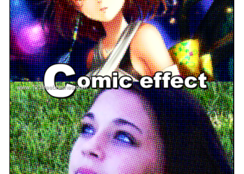 Comic Effect Photoshop Actions