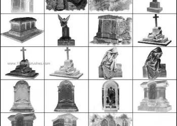 Gothic Cemetery Brushes