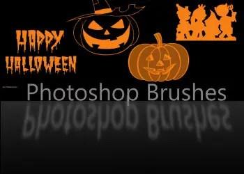Brushes Para Photoshop De Halloween