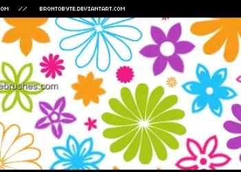 Flower Brushes Cs4