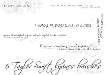Taylor Lyrics