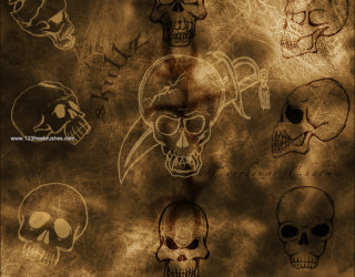 Skull and Crossbones Silhouette