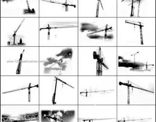 Crane Photoshop Brush