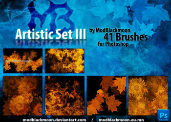 Abstract Brushes Photoshop Free