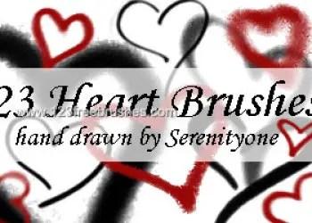 Valentine Heart Doodle
