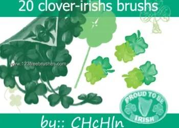 Clovers and Irish
