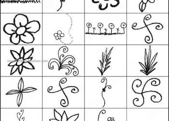 Flower Doodles Brushes for Photoshop