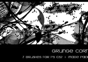 Dirty Grunge Corner