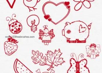 Cute Cartoon Doodles