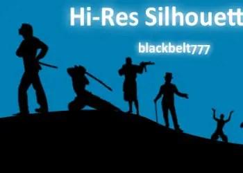 Hi-Res Male Silhouette