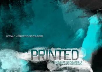 Printed Grunge