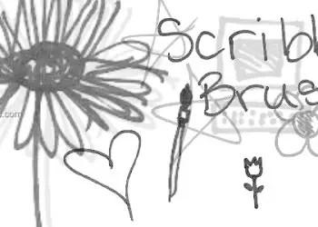 Ink Scribbles 20