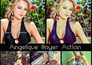 Angelique Boyer Action