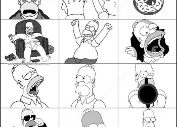 Homer Simpson Brushes Photoshop