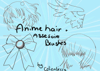 Anime Hair and Accessories