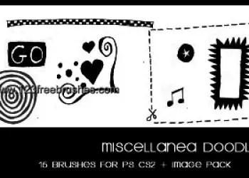 Doodle Set 8